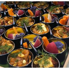 Plateau cassolettes aperitives
