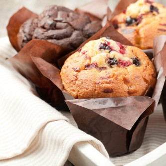 MUFFINS FRUITS ROUGES